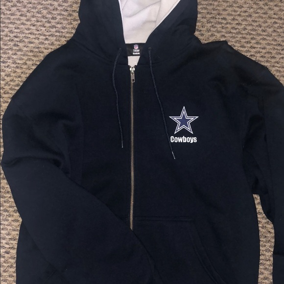 new arrivals c05d7 acef1 Dallas Cowboys NFL Zip-Up Hoodie!